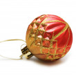 Christmas decoration isolated — Zdjęcie stockowe