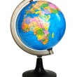 Globe on stand isolated on the white — Stock Photo #1250997