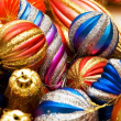 Foto Stock: Colourful christmas decoration