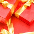 Royalty-Free Stock Photo: Gift boxes isolated on the white