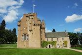 Medieval Scottish castle — Stock Photo