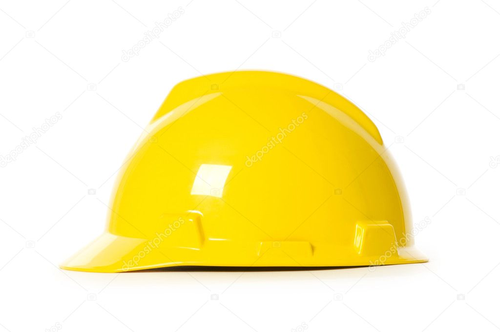 Hard hat isolated on the white background — Stock Photo #1252782