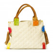 Woman bag isolated on the white — Stock Photo