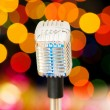 Royalty-Free Stock Photo: Vintage microphone