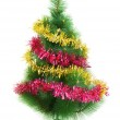 Christmas tree isolated on the white — Stock Photo