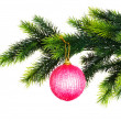 Christmas decoration isolated - 图库照片