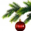 Christmas decoration isolated - Foto Stock