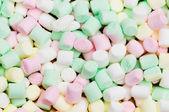 Různé suché barevné sladkosti — Stock fotografie