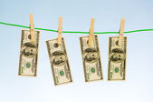 Money laundering concept — Stock Photo