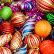 Colourful christmas decoration - Stock Photo
