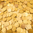 Pile of golden coins - Stock Photo