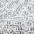 Background with many americdollars — Stock Photo #1924090