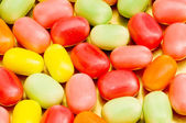 Various dry colourful sweets — Fotografia Stock
