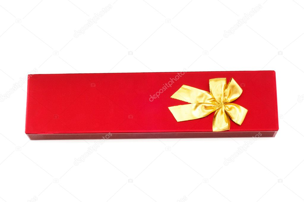 Gift boxes isolated on the white background — Stock Photo #1925331