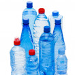 Bottles of water isolated — Stok fotoğraf
