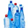 Bottles of water isolated - Stock Photo