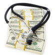 Concept of expensive healthcare - Stock Photo