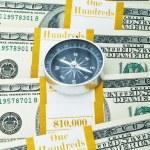 concepto financiero - navegando — Foto de Stock
