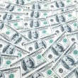Background with many dollar bills — Stock Photo #1937842