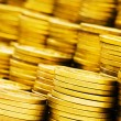 Stack of coins - shallow depth of field — Stock Photo #1937999