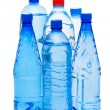 Bottles of water isolated on the white — Stock Photo #1938935