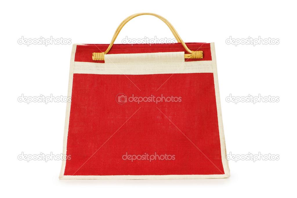 Woman bag isolated on the white background — Stock Photo #1936622
