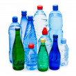 Bottles of water isolated on the white — Stock Photo #1944779
