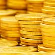 Stack of coins - shallow depth of field — Stock Photo #1945258