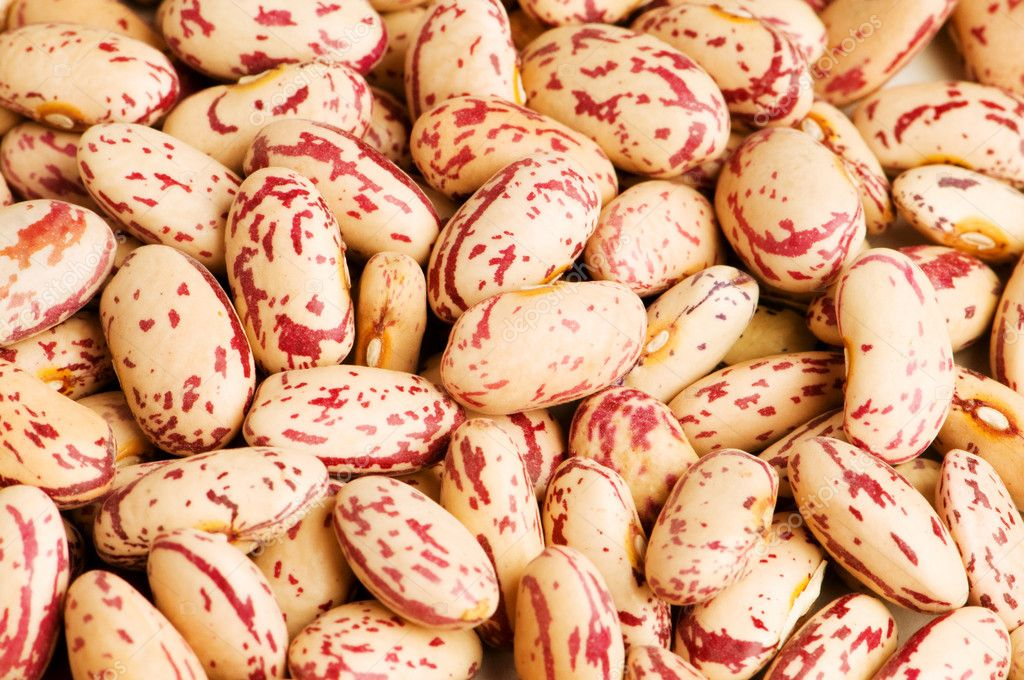 Bunch of beans arranged as a background — Stock Photo #1944991