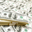 Background with many american dollars — Stock Photo #1951116