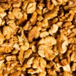 Background made of walnut nuts — Stock Photo