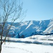 High mountains under snow in the winter — Stockfoto #1952654