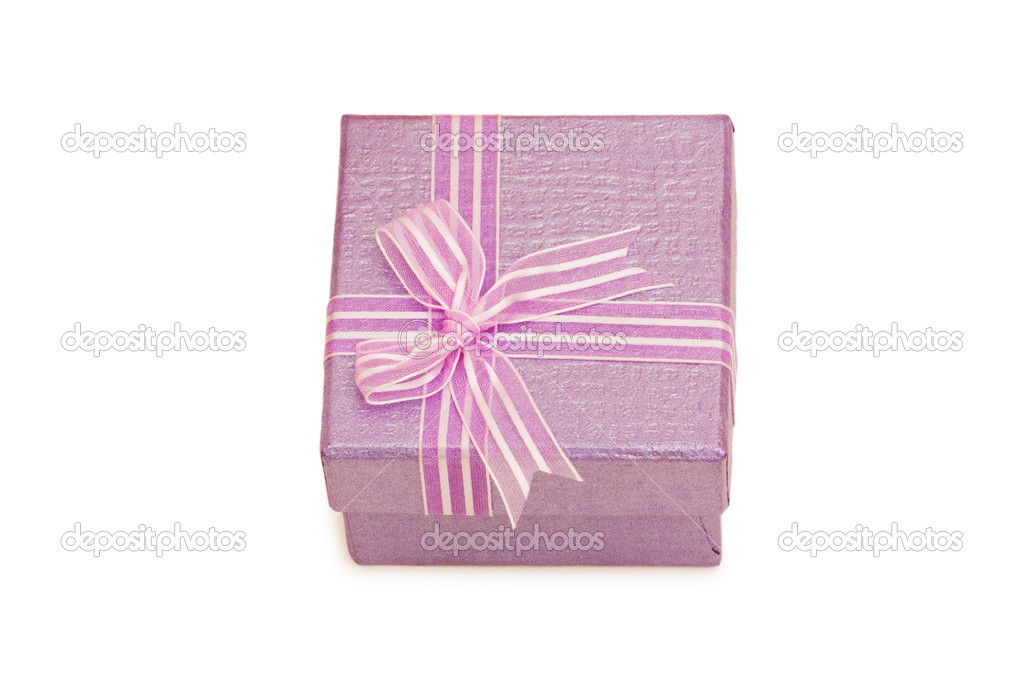 Gift boxes isolated on the white background — Stock Photo #1952936