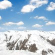 Winter mountains on a bright  day - Stockfoto