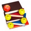 Stock Photo: Back to school concept with books