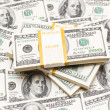 Background with many american dollars — Stock Photo #1973546