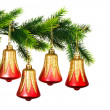 Christmas decoration on the tree — Stock Photo #1975254