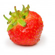 Red strawberry isolated on the white — Stock Photo #1975531