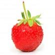 Red strawberry isolated on the white — Stock Photo #1976194