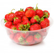 Red strawberry isolated on the white — Stock Photo #1976197