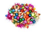 Montón de decoración de Navidad — Foto de Stock