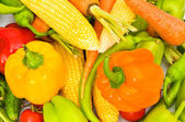 Various colourful vegetables — Stock Photo