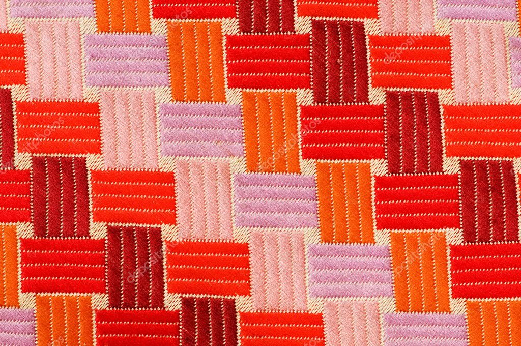 Textile pattern - can be used as a background  Stock Photo #1970673