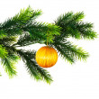 Christmas decoration isolated - Stock Photo