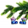Christmas decoration isolated - Stockfoto