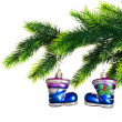 Christmas decoration isolated - Stock fotografie
