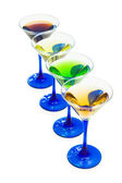 Various cocktails isolated — Stock Photo