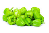 Bell peppers isolated on the white — Stockfoto