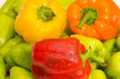 Bell peppers — Stock Photo