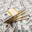 Background with many americdollars — Stock Photo #2603655